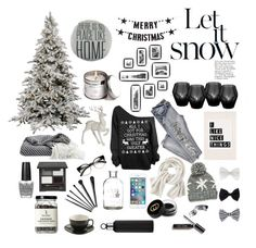 """""""Happy n Merry"""" by kawaiitimemachine on Polyvore featuring moda, Bloomingville, Disney, Eichholtz, Wrap, Accessorize, Gucci, OPI ve blomus"""