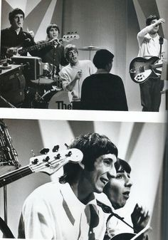 The Who on BBC, Wednesday 5th January 1966 photograph : Dezo Hoffman
