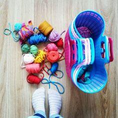 Voorbereiding kinderfeestje shopper pimpen