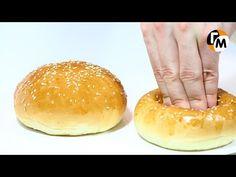 Булочки для гамбургеров   Булочки домашние -- Голодный Мужчина, Выпуск 44 - YouTube