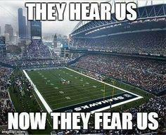 Where we cheer  Seattle Seahawks #EsuranceFantasyTailgate