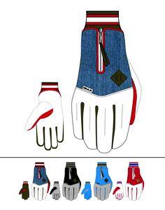 Mens Winter Snowboard Gloves. Bula 2011