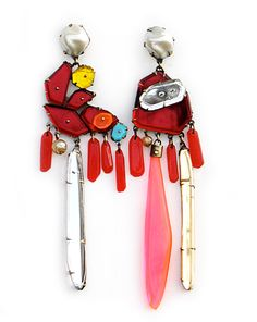 redearrings NIKKI COUPEE jewelry