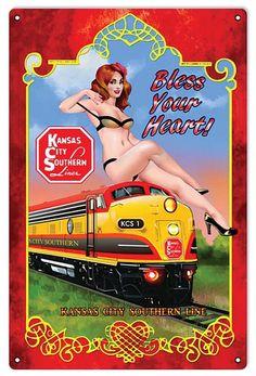 Train Posters, Railway Posters, Tarzan, Pop Art Drawing, Pin Up Girl Vintage, Hell On Wheels, Railroad Photography, Train Art, Rail Car