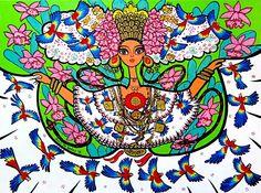 Ojo Pintura E Ilustracion Panamena