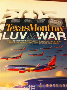 We LUV this cover of @TexasMonthly thanks for sharing @meanrachel