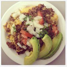 Paleo Girl's Kitchen: Taco Smash Lunch Idea