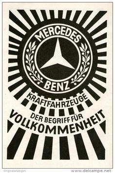 Original-Werbung/ Anzeige 1928 -  MERCEDES- BENZ - ca. 140 x  220 mm