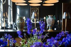 Morning sunlight and fresh new blooms in The Great Room. #CanalHouse #Breakfast #Netherlands #Travel #Hotel #Amsterdam