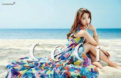 Park Shin Hye in Ceci Magazines March Issue