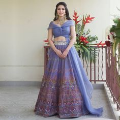 (C) Vrittichowdhry | (C) JADEbymonicaandkarishma Bridal Wardrobe, Sangeet Outfit, Simple Kurti Designs, Bridesmaid Outfit, Bridal Blouse Designs, Indian Fashion Dresses, Lehenga Designs, Bridal Lehenga, Bridal Looks