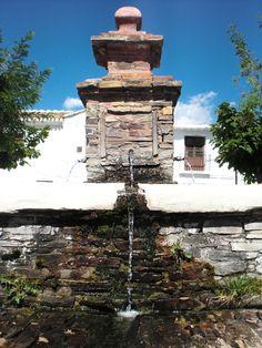 Detalle de fuente en Bubión, Alpujarra, Granada