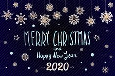 Merry Christmas and Happy New Year 2020 year snowflakes lettering design. Vector illustration Zip file contains editable 10 EPS 1 vector files and 1 JPEG 3d Desktop Wallpaper, Letter Vector, Happy New Year 2020, Merry Christmas And Happy New Year, Christmas Images, Lettering Design, Vector File, Amazing Art, Creative