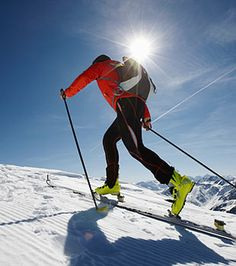 Endurance Training: Cross-Country Skiing