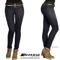 Un jean perfecto para realzar tu silueta y enfatizar en tus curvas. #KenzoJeans www.kenzojeans.com.co