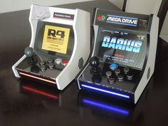 Arcade Bartop, Arcade Stick, Retro Arcade, Arcade Machine, Consumer Products, Arcade Games, Python, Mini, Videogames