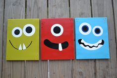Monster Nursery Art Play Room Decor 11 x 14 Large by MaddiesMomE, $59.00