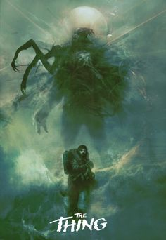 Movie Poster Movement — The Thing by Christopher Shy
