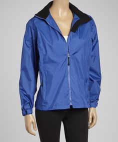 Look what I found on #zulily! Ocean Blue Mountain Rain Parka - Women by Guide's Choice #zulilyfinds