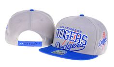 New Era MLB Los Angeles Dodgers Snapback Hats Caps Gray 3624! Only $8.90USD
