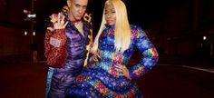 Lo stilista e designer, Jeremy Scott, lo scorso Aprile, aveva anticipato la presenza di Nicki condividendo una foto  di gruppo. Scott ha causato un po 'di polemiche all'interno della comunità hip-hop poche settimane fa, a causa di uno dei suoi disegni stravaganti. Il progetto è stato considerato razzista e insensibile alla schiavitù. Adidas ha bloccato il rilascio della sneaker.
