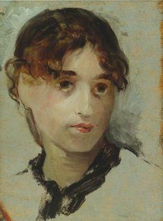 Mary Cassatt Self Portrait | Mary Cassatt, Selbstporträt (self-portrait)