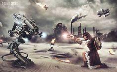 #Steampunk #Victorian #Dieselpunk #Science fiction #Technology #Pavan Krushik #Steam page #warrior #machines #apocalytic #Legendofoldsmoke #Steam punk