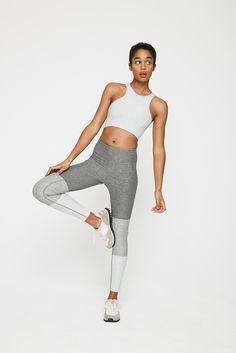 0417d9ff63 Outdoor Voices - Gray Gradient Legging - Lyst