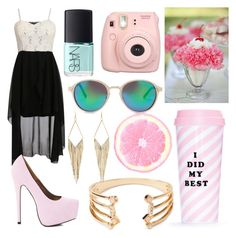 """""""#carla""""35"""""""" by carlalopes34 ❤ liked on Polyvore featuring NARS Cosmetics, AX Paris, Forever 21, ban.do, Charlotte Russe, genuinepeople and gabyidc"""