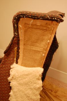 """""""how to: reupholster a wingback chair"""" via megeletto.wordpress.com"""