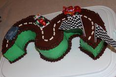 #3 Racecar Cake