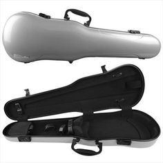 Gewa Air 17 Shaped 44 Full Size Violin Case Silver Metallic High Gloss ** Be sure to check out this awesome product.Note:It is affiliate link to Amazon.