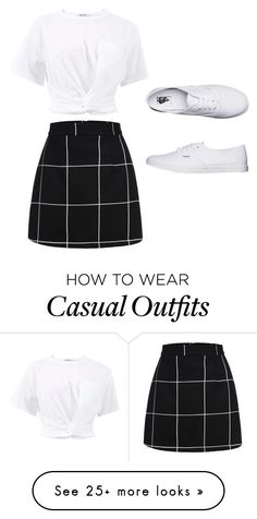 """casual cool"" by cindystyleu on Polyvore featuring T By Alexander Wang and Vans"