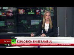 El momento exacto de la explosión en el metro de Estambul-Turquía