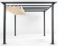Pergola Kit retractable canopy ; Gardenista