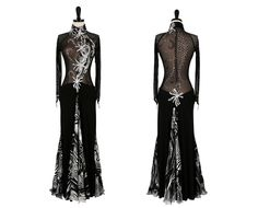 Starry Nights | Smooth & Standard Dresses | Encore Ballroom Couture