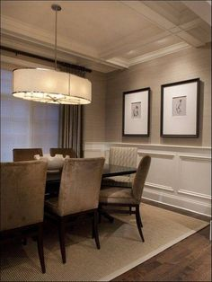 Dining Room Paint Ideas With Chair Rail Image Wainscoting Inspiration 1013