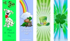 Free Printable St. Patrick's Day Bookmarks