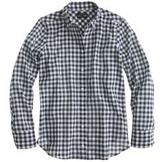 J.Crew Petite Boy Shirt ($120) ❤ liked on Polyvore featuring tops, shirts, button down, boys, petite, petite tops, long sleeve shirts, shirts & tops, j crew shirt i button up shirts
