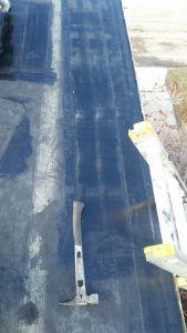 EPDM Roof Repair Completed