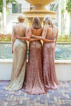 Sparkly Simple Mermaid Sequined different styles cheap Bridesmaid Dress, BD0449#bridesmaids #bridesmaiddress #bridesmaiddresses #dressesformaidofhonor #weddingparty #2020bridesmaiddresses