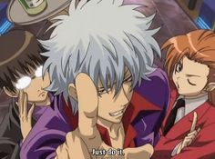 Gintama Host Club: JUST DO IT! lol