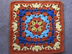 Moogly 2: Catalina Afghan Square pattern by Julie Yeager