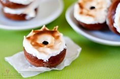 Mexican Hot Chocolate Donuts with Toasted Marshmallow Frosting