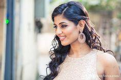 A beautiful pair of Diamond earrings by Mahesh Notandass for Priyanka Mathur at WeddingSutra on Location.  #WeddingSutra #weddingjewellery #wedding #jewellery #ideas #indianwedding #Indian #indianbride #designs #accessories #bridaljewellery #earrings #maangtikka #diamonds
