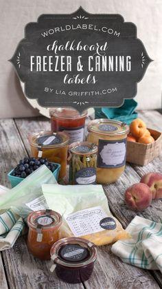 Canning-Freezer-Labels