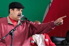 """Maduro llama a Macri """"ladrón"""" y """"cobarde"""" - http://www.notiexpresscolor.com/2016/12/17/maduro-llama-a-macri-ladron-y-cobarde/"""