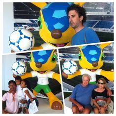 Todo mundo ama o FULECO! <3 #JohnsonsBaby #Fuleco #FanFestNatal #natal #natalhostcity #brazil2014 #fifaworldcupbrazil #amelhortorcidadobrasil