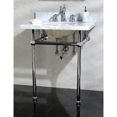 """Found it at AllModern - Templeton 30"""" Fauceture Console Sink with Overflow"""