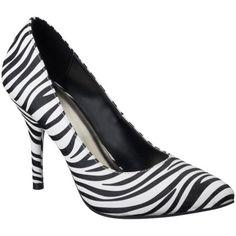 Women's Mossimo® Vivian Pointy Heel - Zebra